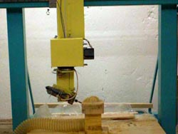 two rotary axis head CNC